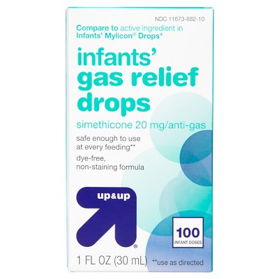 Infants' Gas Relief Drops - (Compare to Infants' Mylicon Drops)1 fl oz - Up&Up™