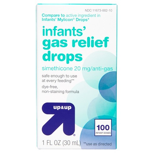 Infants' Gas Relief Drops - (Compare to Infants' Mylicon Drops) 1 fl oz - Up&Up™ - image 1 of 2
