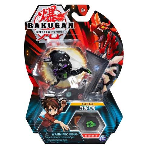 "Bakugan Darkus Cloptor 2""Collectible Action Figure and Trading Card - image 1 of 4"