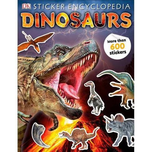 Sticker Encyclopedia Dinosaurs -  Reprint (Paperback) - image 1 of 1