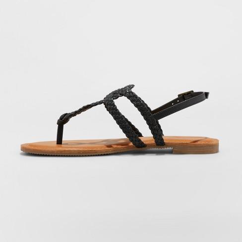 836ae62b29c7 Women s Jana Braided Thong Ankle Strap Sandal - Universal Thread™   Target