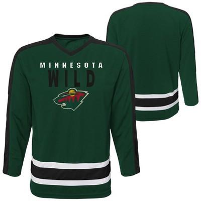 NHL Minnesota Wild Boys' Jersey - L