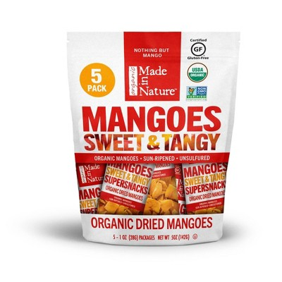 Made In Nature Mango Snack Packs - 5ct/5oz