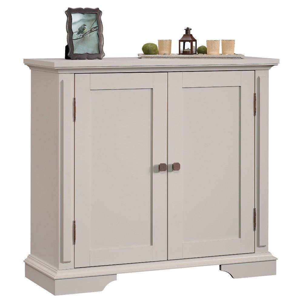 New Grange 2 Door Accent Storage Cabinet - Cobblestone - Sauder, Brown