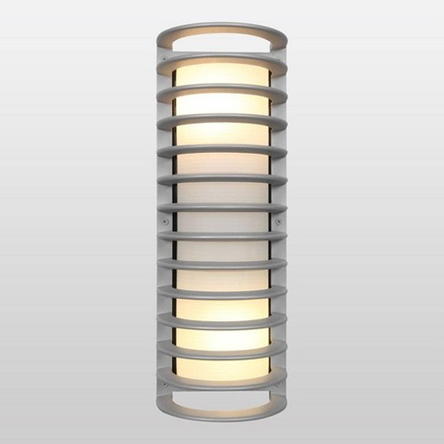"17"" Bermuda LED Outdoor Wall Light with Ribbed Frosted Glass Shade - Access Lighting - image 1 of 1"
