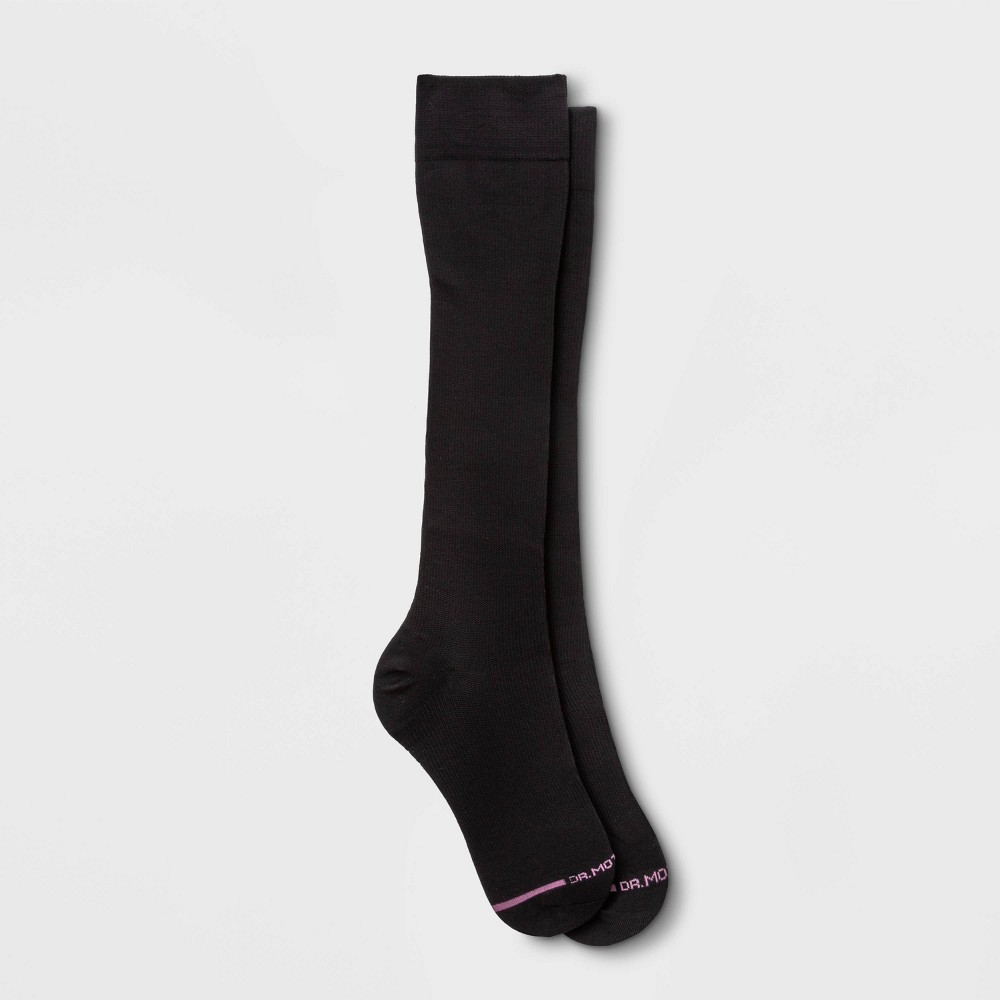 Image of Dr. Motion Women's Mild Compression Knee High Socks - Black 4-10, Size: Small