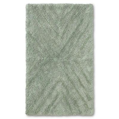 23 x38  Tufted Bath Rug Green - Project 62™ + Nate Berkus™