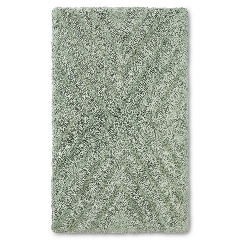 """Image of """"23""""""""x38"""""""" Tufted Bath Rug Green - Project 62 + Nate Berkus , Size: 38""""""""x23"""""""""""""""
