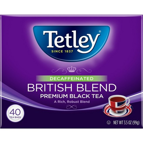 Tetley Decaffeinated British Blend - 40ct - image 1 of 1