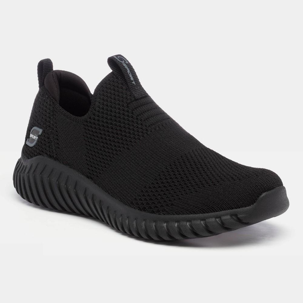 Boys 39 S Sport By Skechers Dilan Slip On Athletic Shoes Black 2