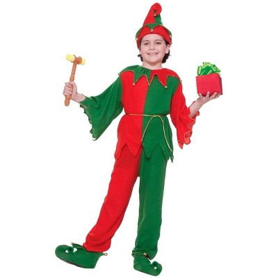 Forum Novelties Santa's Elf Costume With Jingle Bells Child