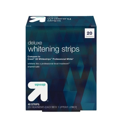 Deluxe Whitening Strips - 20 Day Treatment - 40ct - up & up™