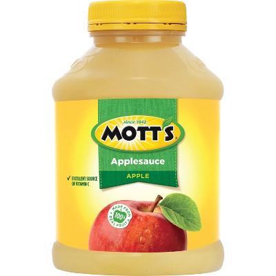 Applesauce: Mott's