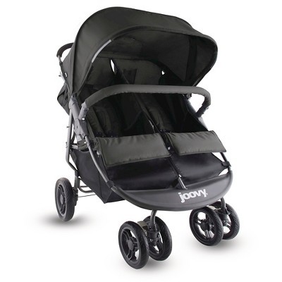 Joovy ScooterX2 Double Stroller - Black