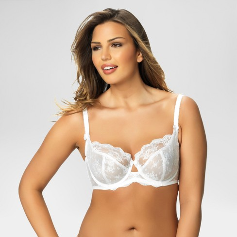 4bf74c1d76b15 Paramour® Women s Captivate Unlined Bra - White 32DD   Target