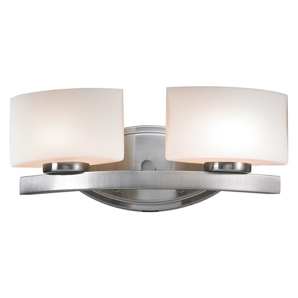 Vanity Wall Lights with Matte Opal Glass (Set of 2) - Z-Lite