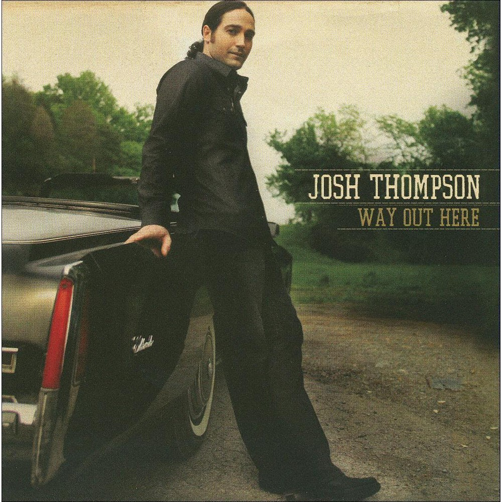 Josh Thompson - Way Out Here (CD)