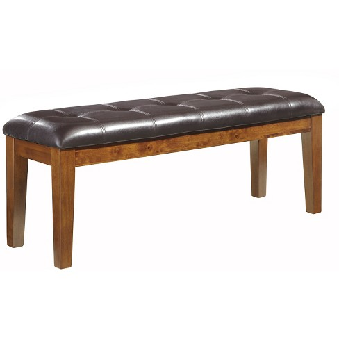Ralene Large Upholstered Dining Room Bench Wood/Medium Brown - Signature Design by Ashley - image 1 of 3