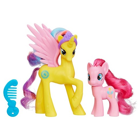 My Little Pony Princess Gold Lily and Pinkie Pie Figures - image 1 of 2