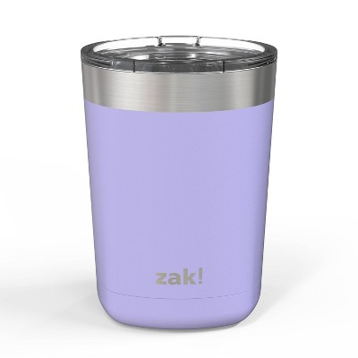 Zak! Designs 13oz Double Wall Stainless Steel Low Ball Tumbler