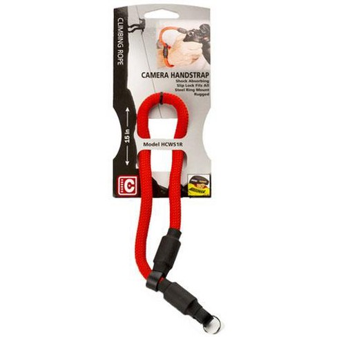 Hoodman 10mm Climbing Rope Handstrap for Camera with Lens Up to 5 Lbs, Red - image 1 of 2