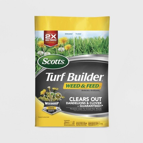 Scotts Turf Builder Weed & Feed 5000 Square Feet - image 1 of 1