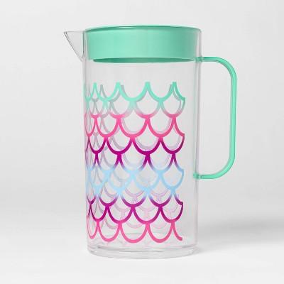 82oz Plastic Mermaid Beverage Pitcher - Sun Squad™