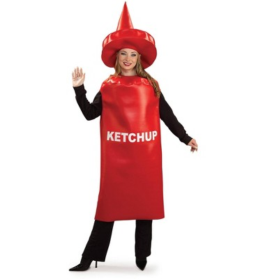 Rubies Hilarious Adult Ketchup Bottle Costume