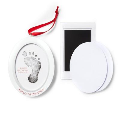 Pearhead Baby Prints Photo Ornament