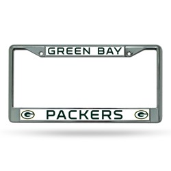 NFL Rico Industries Chrome License Plate Frame