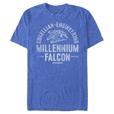Men's Star Wars Millennium Falcon Corellian Engineering T-Shirt
