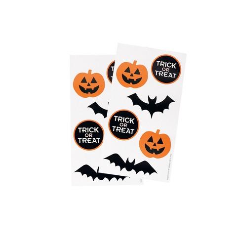 2 Sheets Halloween Stickers Pumpkin \