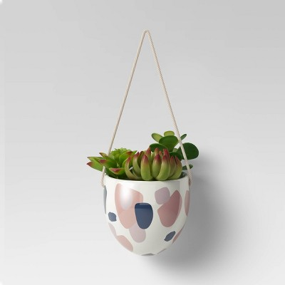 Drip Paint Hanging Planters Green - Opalhouse™