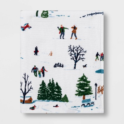 Winter Scene Hand Towel - Threshold™