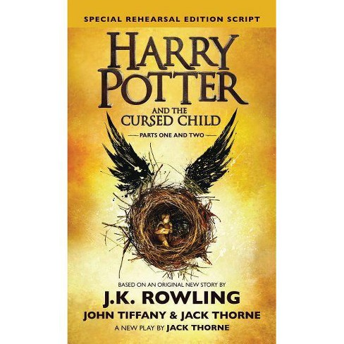 Harry Potter and the Cursed Child - (Harry Potter (Hardcover)) Large Print by  Jack Thorne & John Tiffany (Hardcover) - image 1 of 1