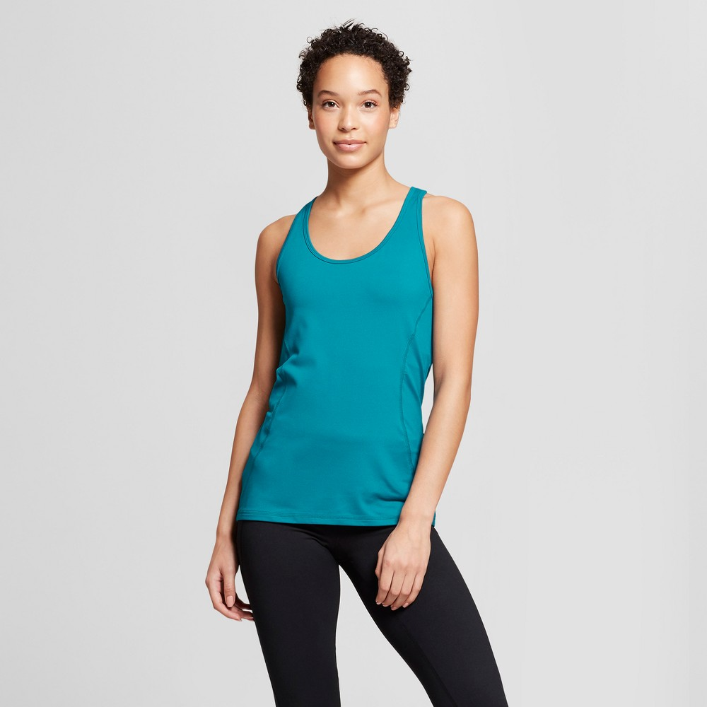Women's Fitted Tank Top - C9 Champion Mermaid Teal Xxl