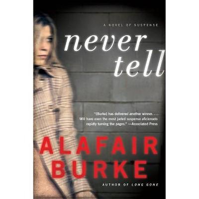 Never Tell - (Ellie Hatcher) by  Alafair Burke (Paperback)