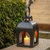 Metal Outdoor Lantern Natural - Smith & Hawken™ - image 4 of 4