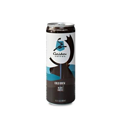 Caribou Coffee Cold Brew Black - 11.5 fl oz Can