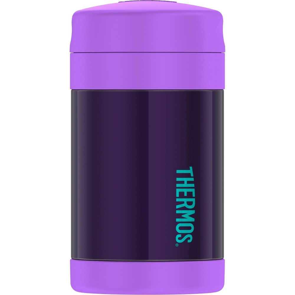 Thermos 16oz FUNtainer Food Jar with Spoon - Purple