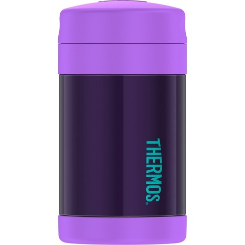 Thermos 16oz FUNtainer Food Jar with Spoon - Purple - image 1 of 4