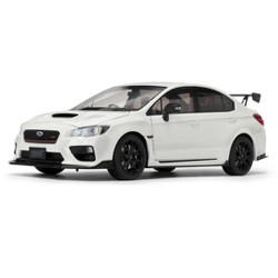 Subaru S207 NBR Challenge Package RHD (Right Hand Drive) Crystal White Pearl 1/18 Diecast Model Car by SunStar