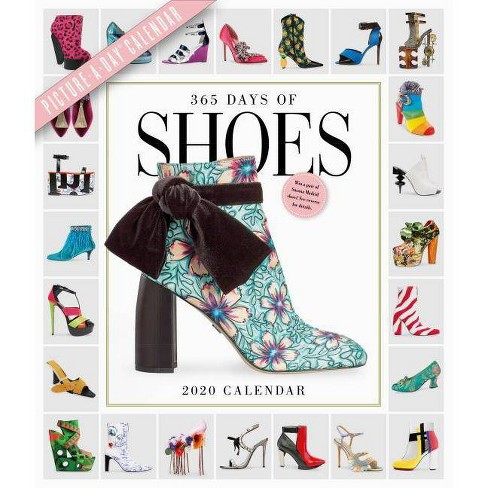 Shoe Calendar 2020 365 Days Of Shoes Picture A Day Wall Calendar 2020 : Target