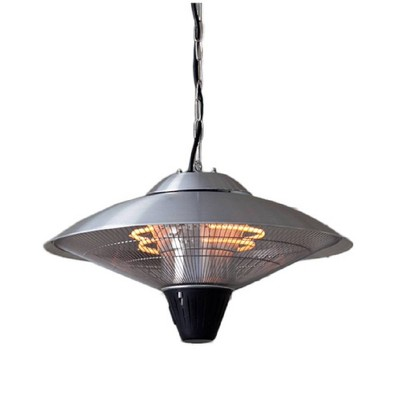 Aluminum Electric Hanging Heater Lamp - Stainless Steel - AZ Patio Heaters
