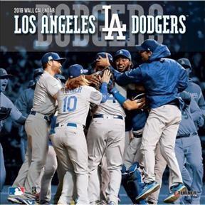Los Angeles Dodgers 2019 Calendar Paperback Target