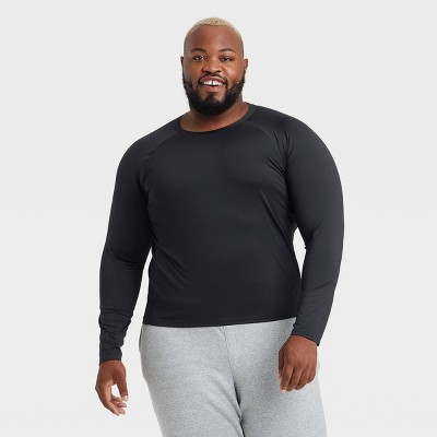 Men's Fitted Long Sleeve T-Shirt - All in Motion™