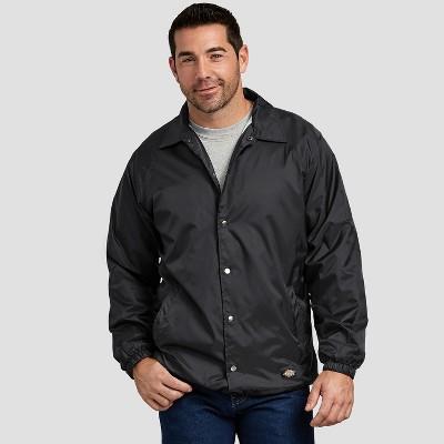 Dickies Men's Snap Front Nylon Jacket