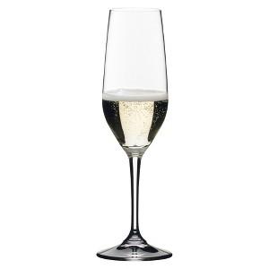 Riedel Vivant 4pk Champagne Flute Set 9oz, Clear
