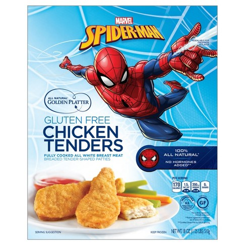 Golden Platter Spider-Man Chicken Tenders - 18oz - image 1 of 1