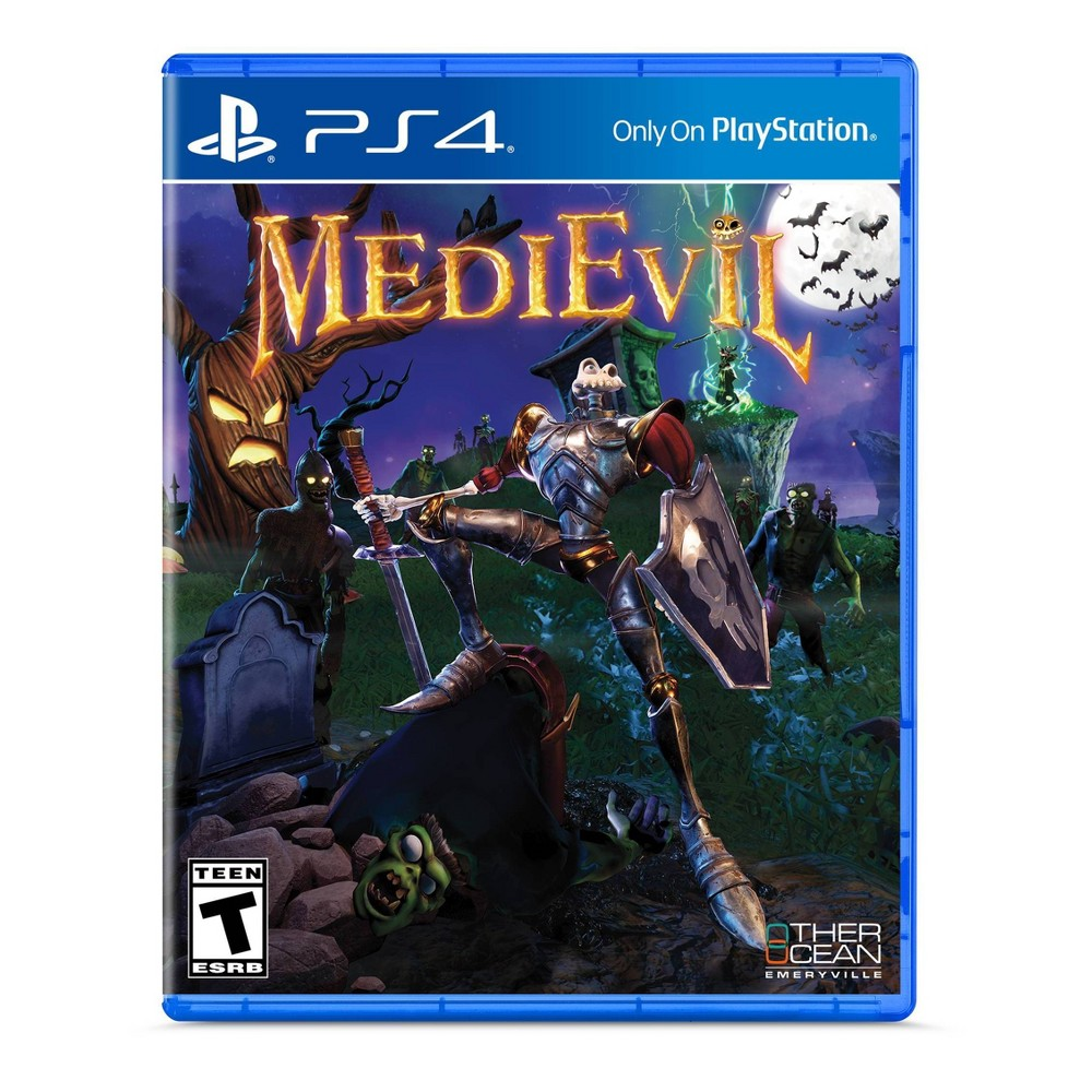 MediEvil - PlayStation 4, video games was $29.0 now $19.99 (31.0% off)
